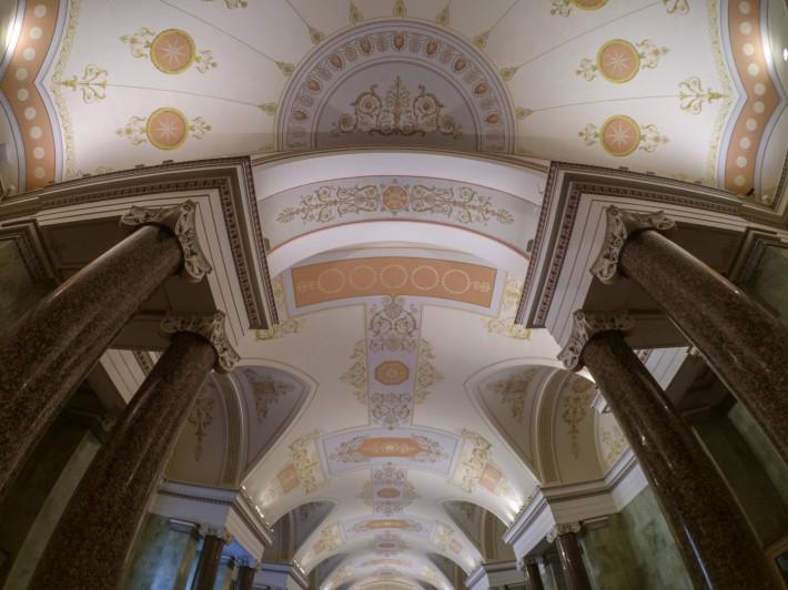 Роспись потолков на первом этаже Нового Эрмитажа — фото 5