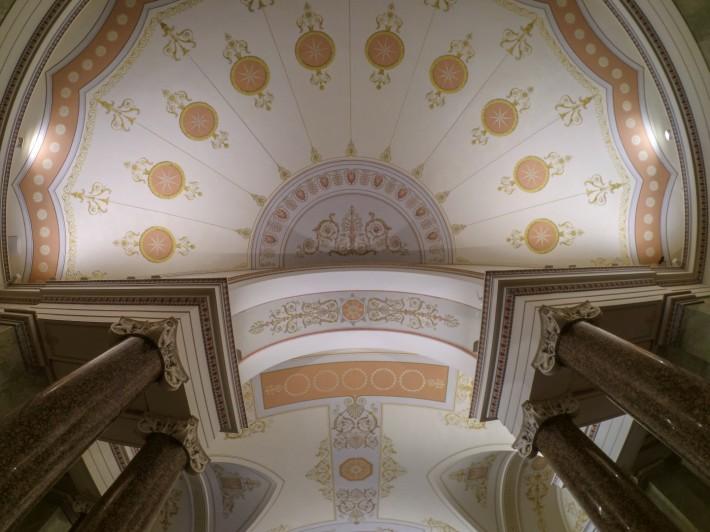 Роспись потолков на первом этаже Нового Эрмитажа — фото 6