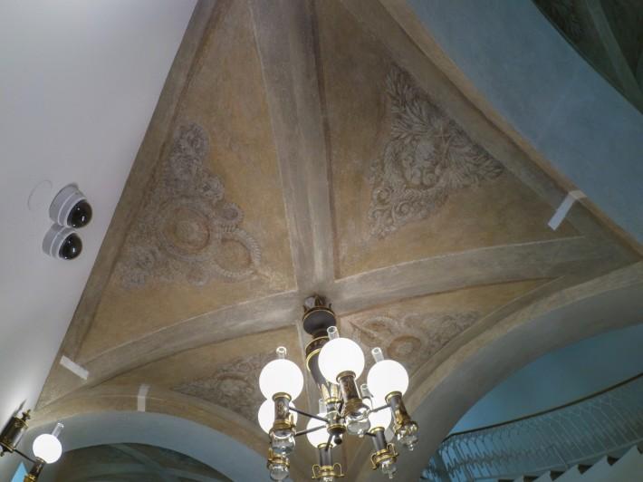 Роспись потолка на лестнице Главного Штаба — фото 1