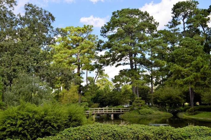 Японский сад в Парке Хермана — фото 3