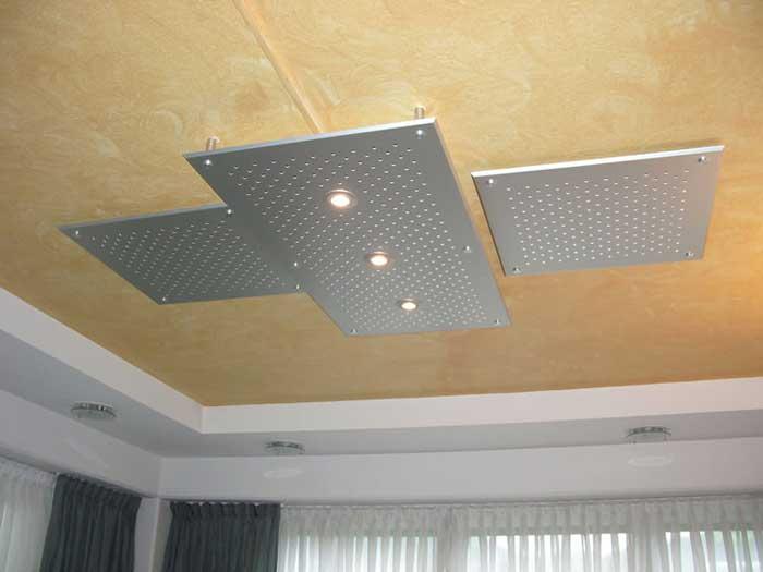 Металлический потолок — фото 20