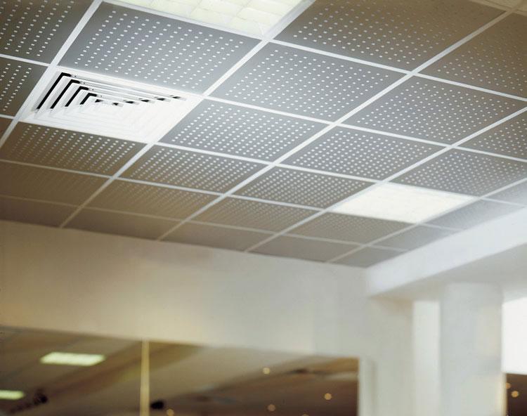 Металлический потолок — фото 23