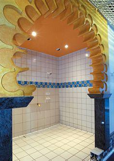 Натяжной потолок в ванной — фото 8