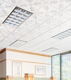 Подвесной потолок в офисе — фото 6