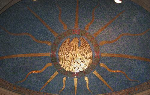 Мозаичный потолок — фото 7