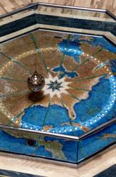 Мозаичный потолок — фото 8