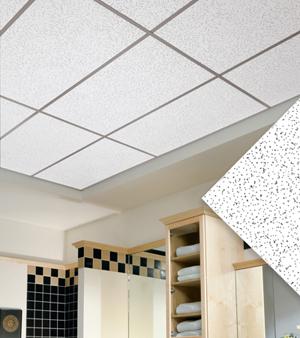 Подвесной потолок в ванной — фото 2