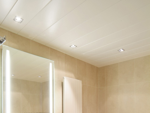 Металлический потолок — фото 28