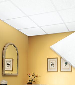 Подвесной потолок в ванной — фото 4