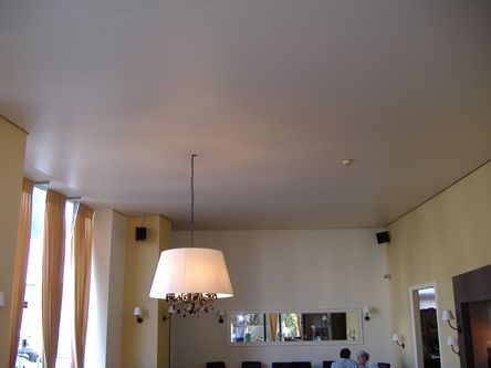Натяжной потолок в гостиной — фото 2