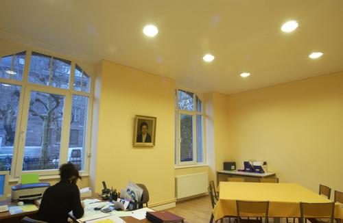 Натяжной потолок в офисе — фото 4