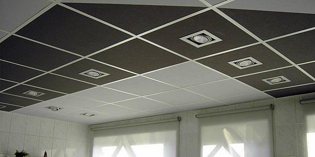 Подвесной потолок — фото 55