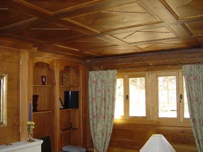 Фото потолка ванной