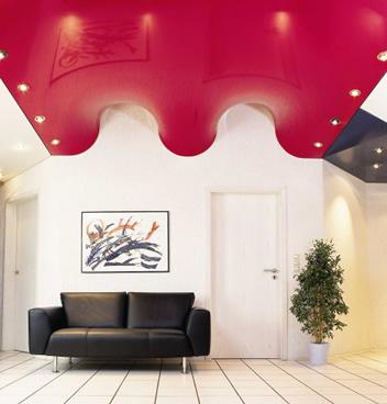 Изогнутый потолок — фото 1