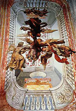 Роспись потолка — фото 319