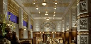 Мозаичный потолок ресторана-кафе Империал