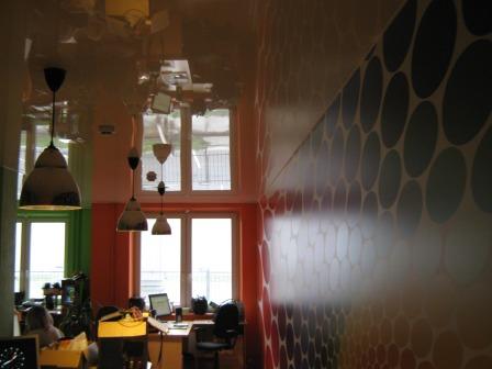 Натяжной потолок СтройПрестиж в офисе