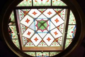Витражный потолок — фото 1
