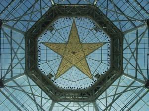 Оригинальная стеклянная крыша
