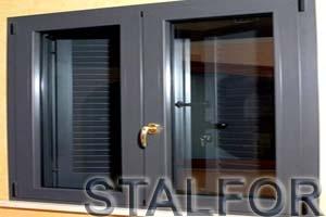 Алюминиевое окно от Сталфор