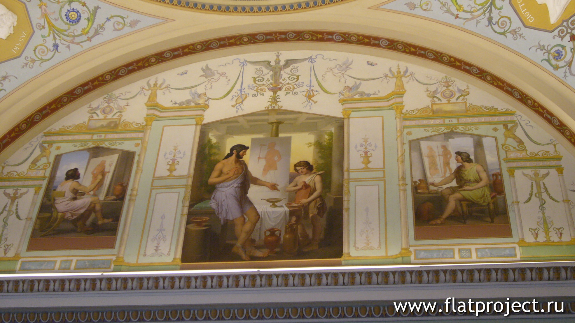The State Hermitage museum interiors – photo 252