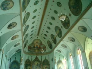 Роспись потолка — фото 321