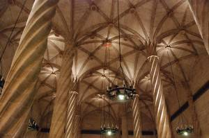 Потолок Лонха-де-ла-Седа — шёлковая биржа, Валенсия