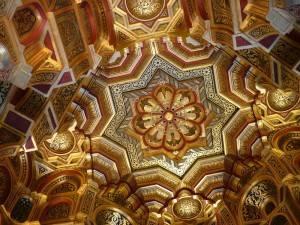 Потолок Арабской комнаты в замке Кардифф