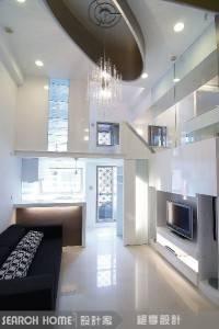 Интерьер с потолком из гипрока — фото 10