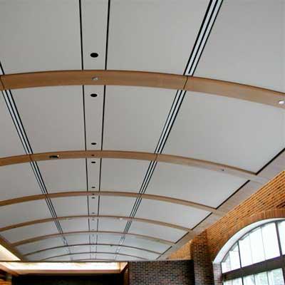 Необычный подшивной потолок