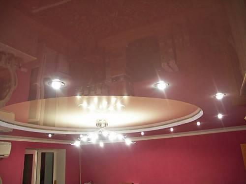 Натяжной потолок от компании Еврострой - фото 5