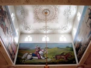 Потолок холла Белого Замка
