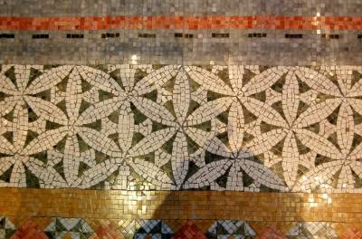 Мозаичный пол — фото 18