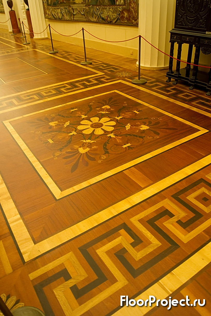 The State Hermitage museum floor designs – photo 3