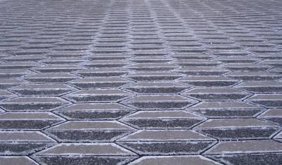 Пол из керамической плитки — фото 118