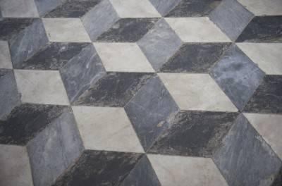 Пол из керамической плитки — фото 64