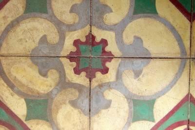 Пол из керамической плитки — фото 135