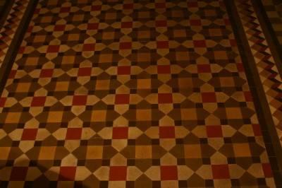 Пол из керамической плитки — фото 138