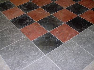 Пол из керамической плитки — фото 140