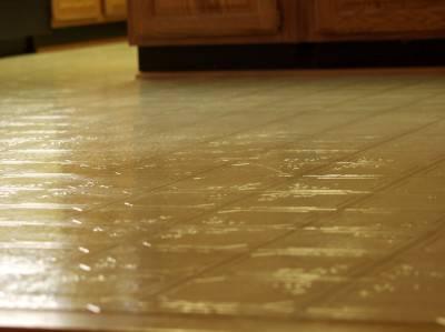Пол из керамической плитки — фото 141
