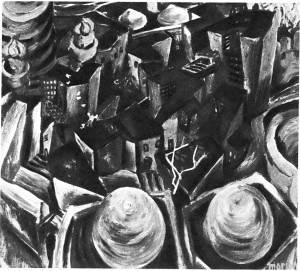 Т. Нариманбеков. Баку. Старый город. 1965 Холст, темпера