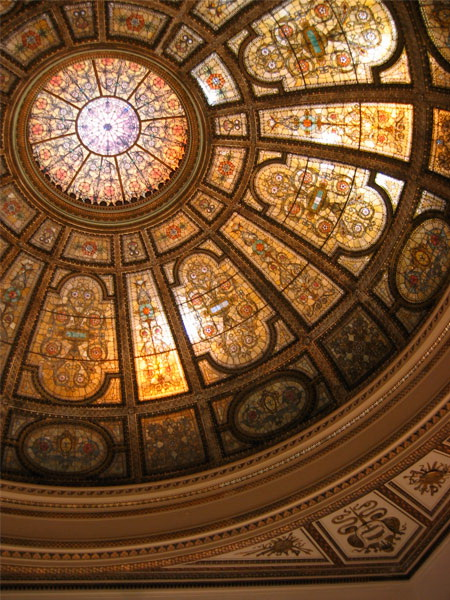 Витражный потолок — фото 17