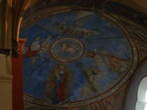 Роспись потолка — фото 370