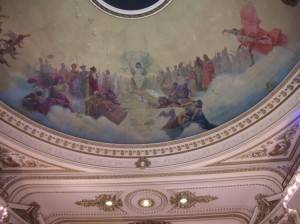 Роспись потолка — фото 119