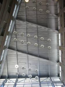 Металлический потолок — фото 7