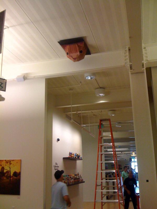 Подвесной потолок — фото 27