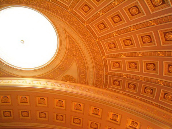 Роспись потолка — фото 87
