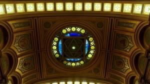 Витражный потолок — фото 16