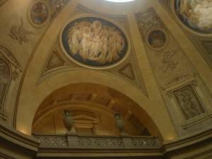 Роспись потолка — фото 223