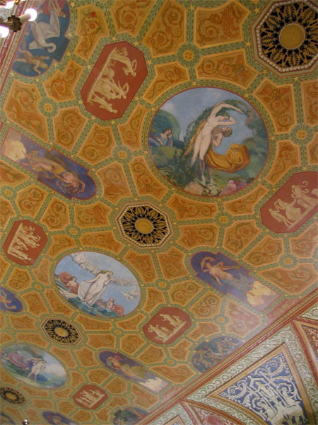 Роспись потолка — фото 4
